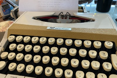 A Typewriter for Now