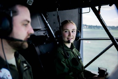 Timaru students experience life in the Air Force