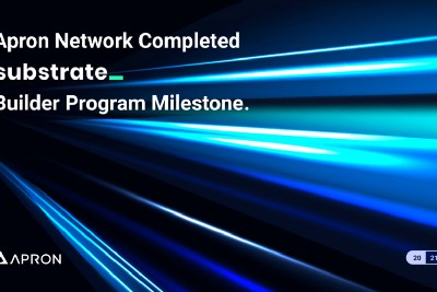 Apron Network Completed Substrate Builder Program Milestone