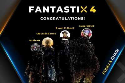 """""""Name the Pundi X Chain Validators"""" event concluded— meet FantastiX 4"""
