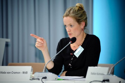 Viola von Cramon 'NO to any land swap or modifications of borders in Western Balkans '