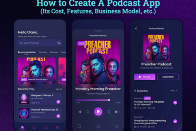 How Much Does It Cost To Create An App like Podcast