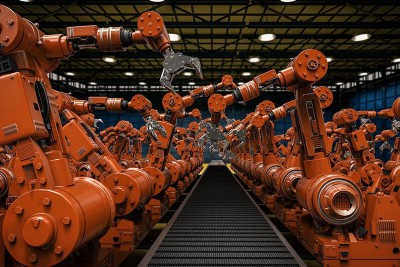Robotization: the advantage of developing economies on developed ones.