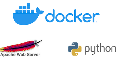 Configuring HTTPD Server and Setting Up Python Interpreter on Docker Container