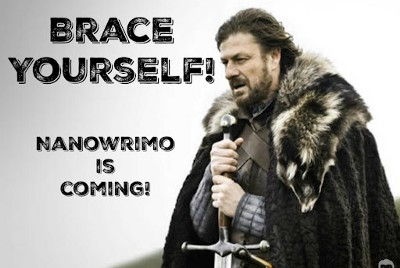 The NaNoWriMo is Coming GIVEAWAY