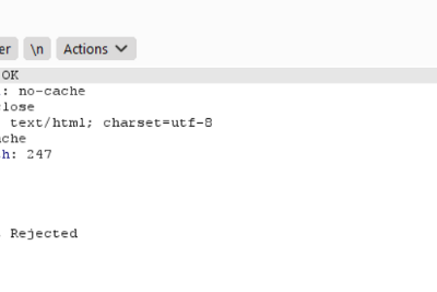 An Intresting Insecure Deserialization