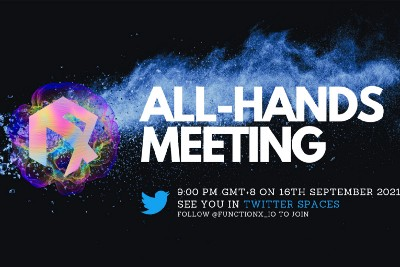 Summary of Function X All-Hands Meeting on 16th September 2021