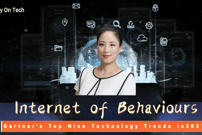 Why did Gartner rank the Internet of Behaviours (IoB) at the top of the nine technology trends in…