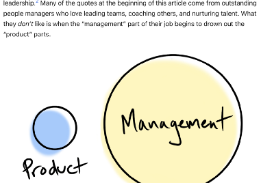 Don't Let Your Best Product Managers All Become People Managers Or Your Company Will Suffer