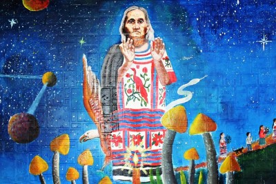 Tribute to María Sabina: Saint Mother of the Sacred Mushrooms.