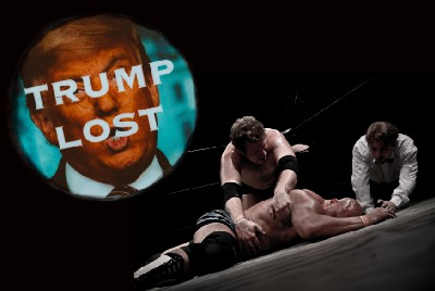 The Postmodern Pro Wrestling Hell of Donald Trump