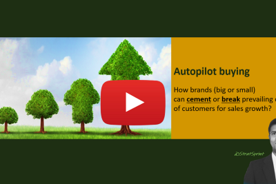 Autopilot buying: How brands (big or small) can cement or break prevailing choices of customers for…