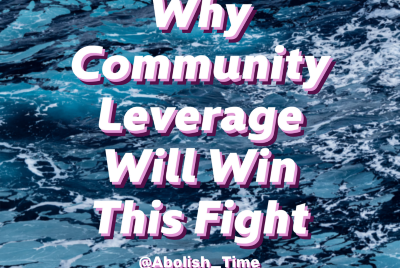 Why Community Leverage Will Win This Fight