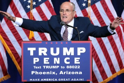 Giuliani Joins the Club: Welcome Home, Rudy