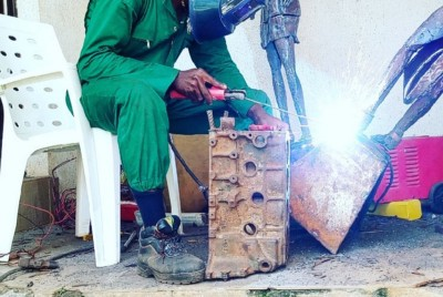 Let's here it from Sunday Chikaodinaka Chukwu: The Metal Sculptor