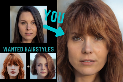 Barbershop: Try Different Hairstyles and Hair Colors from Pictures (GANs)