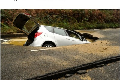 Pot Holes are your fault!