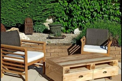Interesting Ideas of Profitable Pallet Projects for Home Decor