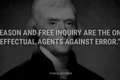 WE NEED FREEDOM TO INQUIRE