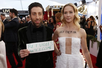 Celebs Stood With Refugees At One Hell Of A SAG Awards