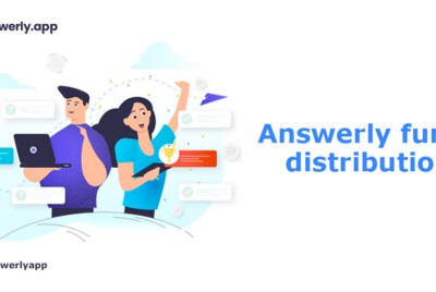 How does Answerly plan to utilize funds from SCF