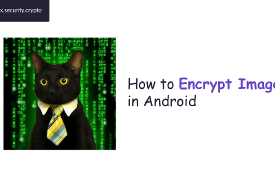 How to Encrypt Images in Android