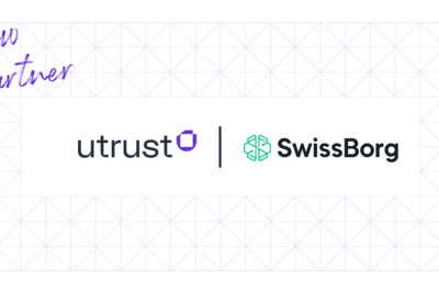 SwissBorg and Utrust official partnership