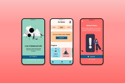 Case study: A goal-setting app to form healthier habits