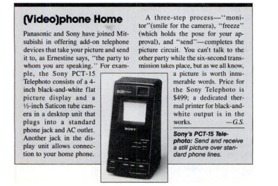 Decoding the signal from 1988 Videophone