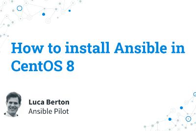 How to install Ansible in CentOS 8