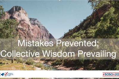 Mistakes Prevented; Collective Wisdom Prevailing - Women's Campaign Fund
