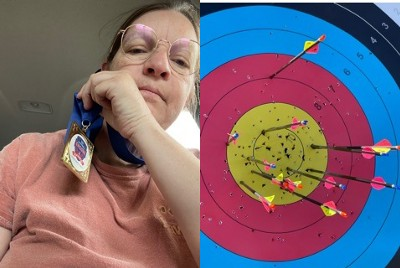 What it's like to be a liberal, female, disabled archery competitor