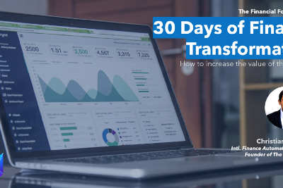 30 Days of Finance Transformation with Christian Martinez, Founder of The Financial Fox