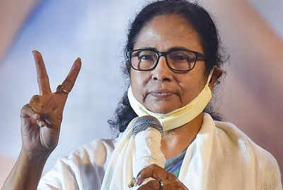In spite of the BJP paid media hype, BJP was no match for Mamata Banerjee's juggernaut.