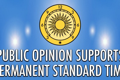 Public Opinion Supports Permanent Standard Time