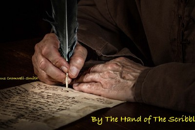 BY THE HAND OF THE SCRIBBLER