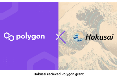 Hokusai API, NFT Infrastructure for the Internet, had received grant from Polygon.