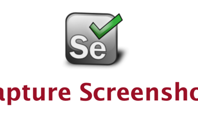 How to Take a Screenshot With Selenium, TestNG and Maven