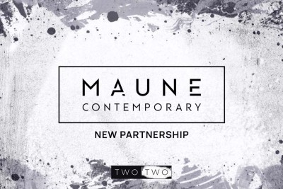 TWO TWO Partners With Premium Artist Representative, Maune Contemporary