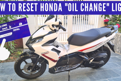 How To Reset a Honda Air Blade Oil Change Indicator Light