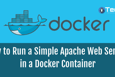 Configuring HTTPD Server on Docker Container