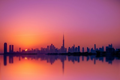 What is the United Arab Emirates' digital, solarized vision?