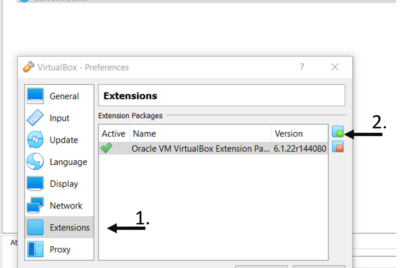 How to use external hard-drive devices on VirtualBox?