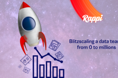 Blitzscaling a data team: from 0 to millions