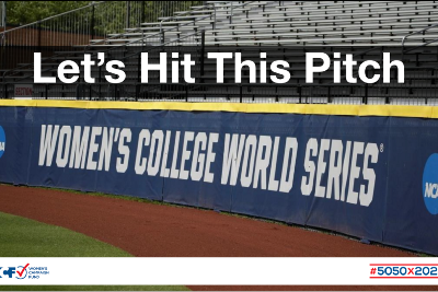Let's Hit This Pitch - Women's Campaign Fund