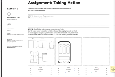 Assignment: Taking Action