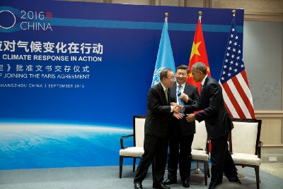 President Obama: The United States Formally Enters the Paris Agreement