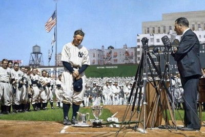 """""""LUCKIEST MAN""""—THE GRACE OF LOU GEHRIG"""
