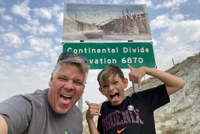 Two Weeks on the Road With Aden—Part III- Entering Montana