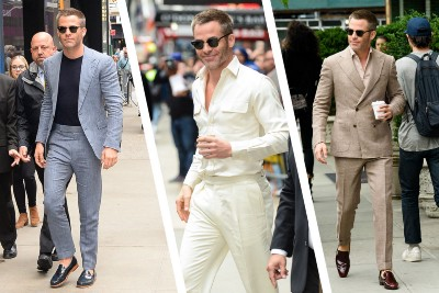 Why Chris Pine is one of the most fashionable men in Hollywood
